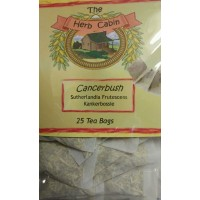 Cancerbush (Kankerbossie) Tea Bags (25) - fever, stomach, tonic, diabetes